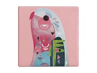 Living & Giving Maxwell & Williams Pete Cromer Coaster Parrot 9.5cm