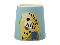 Living & Giving Maxwell & Williams Pete Cromer Egg Cup Budgerigar