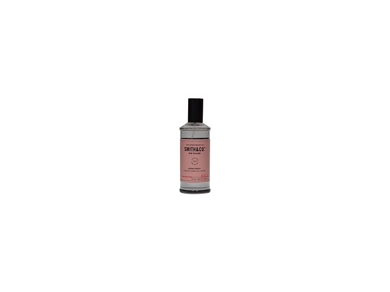 The Aromatherapy Co Smith & Co Room Spray Elderflower & Lychee 100ml