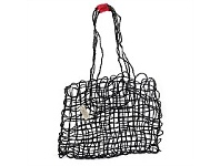 Living & Giving Ecomax Coconut String Bag Black