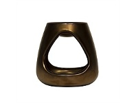 Living & Giving The Aromatherapy Co Therapy Ceramic Oil Burner Bronze