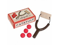 Living & Giving Retro Catapult Toy with Balls