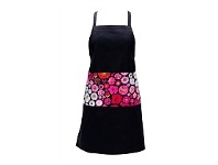 Living & Giving Annabel Trends Pink Blossom Print Pocket Apron