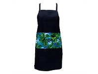 Living & Giving Annabel Trends Tropical Trees Print Pocket Apron