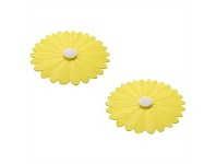 Living & Giving Charles Viancin Yellow Daisy Lid Xsmall 2 pack