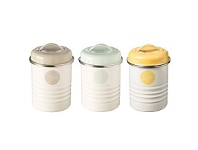 Living & Giving Typhoon Americana Canisters Set 3
