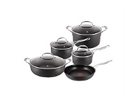 Living & Giving Jamie Oliver Hard Anodised Induction 5 piece Set