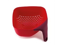 Living & Giving Joseph Joseph Square Colander Red Medium