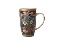 Living & Giving Maxwell & Williams Morris Strawberry Thief Blue Coupe Mug