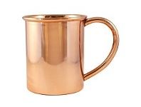 Living & Giving Moscow Mule Smooth Mug Copper 473ml