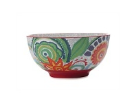 Living & Giving Christopher Vine Gypsy Bowl Red 15.5CM
