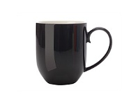Living & Giving Maxwell & Williams Colour Basics Coupe Mug Black 350ml