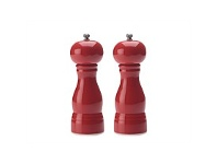 Living & Giving Maxwell & Williams Colour Basic Salt and Pepper Mill Set Red 17cm