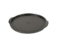 Living & Giving Emile Henry BBQ Pizza Stone Charcoal 37cm