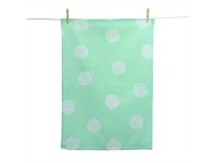 Living & Giving Sketchy Spot Turquoise Tea Towel 50x70cm