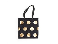 Living & Giving Ladies Choice Gold Dot Tote 40cm Square