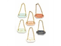 Living & Giving Chez Elle Decanter Tags Set 6