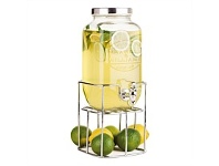 Living & Giving Maxwell & Williams Olde English Juice Jar & Stand 3.5L