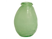 Living & Giving Verde Frost Bottle Vase Shape A