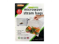 Living & Giving Microwave Steam Cooking Bag 30Pack
