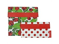 Living & Giving Sachi Lady Bugs Lunch Pockets Set of 2