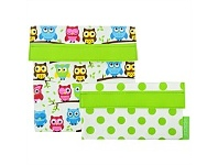 Living & Giving Sachi Owls Lunch Pockets Set of 2