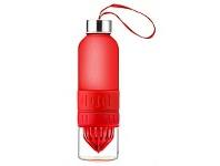Living & Giving Oasis Infusion Water Bottle Red 600ML