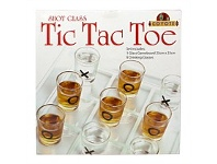 Living & Giving Coyote Tic Tac Toe Drinking Game