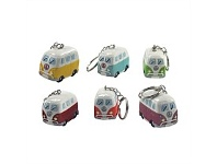 Living & Giving Dakota Campervan Keyring Assorted