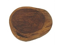 Living & Giving Mango Wood Board Natural Finish 400x300mm
