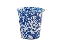 Living & Giving Dishy Marbled Enamel Tumbler Blue and White 400ml
