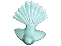 Living & Giving Bob Steiner Fantail Turquoise Green