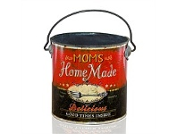 Living & Giving Home Made Rustic Tin with Handle 120x120mm