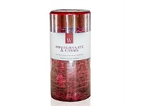 Living & Giving Waxglo Cylinder Candle Pomegranate Cassis 70x150mm