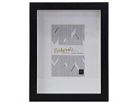 Living & Giving Boxed Photo Frame Wood Black 4x6