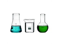Living & Giving Science Lab Glass Flask 250ml Set of 3