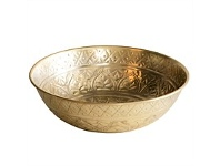Living & Giving Angelique Gold Bowl 32x10cm
