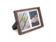 Living & Giving Umbra Multi Axis Photo Frame 5x8 Aged Walnut