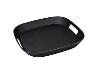 Living & Giving Zuperzozial Square Tray Black 34x34cm