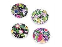Living & Giving Compact Mirror Tropical