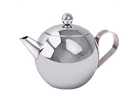 Living & Giving Teapot with Infuser Stainless Steel 1 Litre