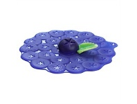 Living & Giving Charles Viancin Silicone Blueberry Lid 15cm