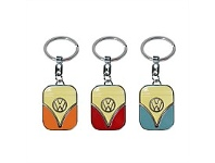 Living & Giving VW Metal Key Ring Assorted Colours