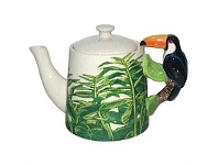 Living & Giving Toucan Handled Teapot