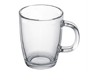 Living & Giving Bodum Bistro Glass Coffee Mug 350ml