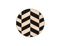 Living & Giving Scandi Coasters Round Set of 4
