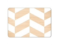 Living & Giving Scandi Placemat White Rectangle