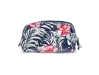 Living & Giving Annabel Trends Hibiscus Cosmetic Bag Navy Large