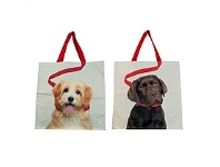 Living & Giving Shopping Bag Dogs Assorted 40cm