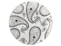 Living & Giving Maxwell & Williams Mindfulness Plate Paisley 19cm